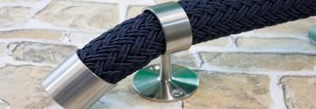 Seilbeschläge und Taue für 50mm Handläufe