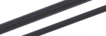 Gummileine / Expanderseil 3,0 - 14,0mm ø - 100mtr. Spule / Schwarz