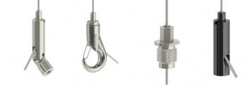 HTF Drahtseilhalter / Gripper Typ 20 für  1,2mm - 2,0mm ø Drahtseile