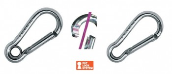 Karabiner - Key-Lock / 5,0-13,0mm