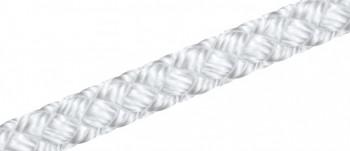 Perlon (PA) Flechtleine - weiß 1,0- 16,0mm ø