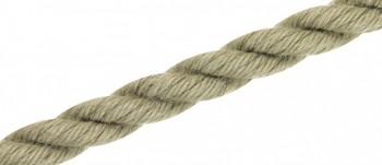 Polyhanf - Tauwerk, Hanffarbig, gedreht / 3mm bis 60mm ø