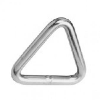 Triangel- Ringe, geschweißt und poliert - Edelstahl