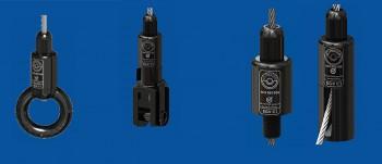 Drahtseilhalter Typ 50 - Drahtseil: 4,0mm - 5,0mm