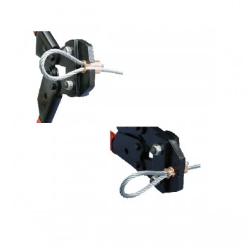 HTF-SC 0-3/64 Handpresszange für Edelstahlpressklemmen - NG1,5