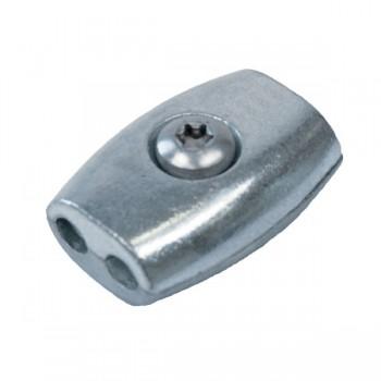 Eiform - Seilklemme für 3,0mm Drahtseil