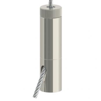Drahtseilhalter Gripper 30SE M8 Innengewinde - vernickelt