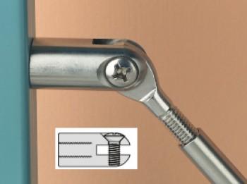 SBD Wandhalterung Gabelkopf - M8 für 3/4mm Terminal-Spanner