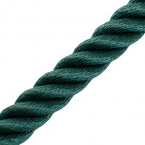 Handlaufseil / Absperrseil 30mm ø  - dunkelgrün
