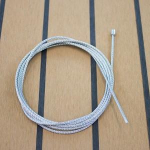 Drahtseil konfektioniert ø=1,5mm / mit Nippel 3,5mm ø