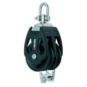 Zweischeibiger Gleitlager-Block PBB mit Wirbel und Bügel