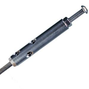 DIY Selbstmontage Seilspanner für 4mm Drahtseil mit Schraube M6x60