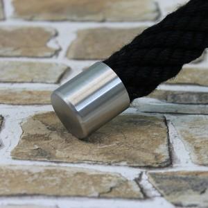 """Seilendkappe """"Edelstahl matt"""" für 50mm Handlaufseil"""