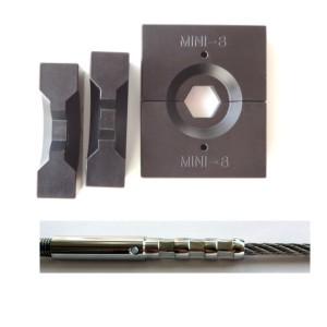 Pressbacken für Drahtseilterminals für 1,5mm bis 8mm Terminal's