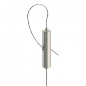 Drahtseilhalter / Doppel - Gripper Typ15  - vernickelt