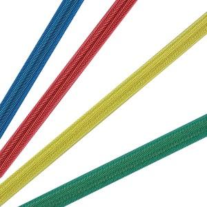 Gummileine / Gummiseil 10mm ø - 100mtr. Spule - farbig