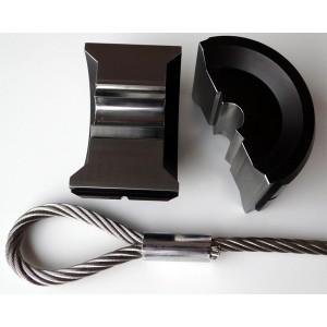 Pressbacken für DIN/EN13411-3 Ovalklemmen NG2,5 - NG12