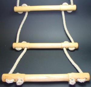 Hochwertige Strickleiter / Sprossenleiter
