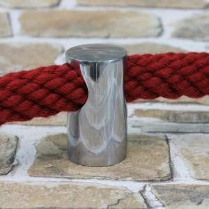 """Seilträger New Line """"verchromt Glänzend"""" für 30mm Handlaufseil"""