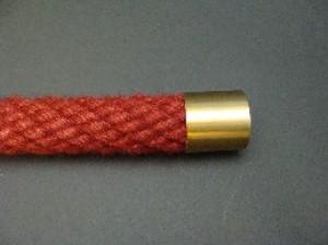 "Seilendkappe ""Messing matt"" für 30mm Handlaufseile"