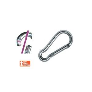 Karabinerhaken Key Lock - 6 x 60mm, Edelstahl