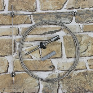 Ranksystem 50mm Bausatz / 2 Wandhalter