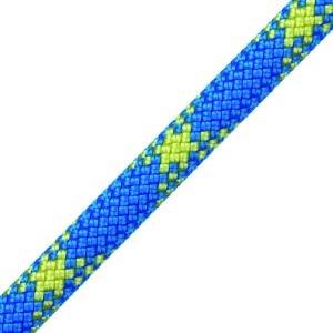 Rock - Dynamisches Einfachseil / 10,2mm Ø - Länge 200mtr. / Blau-Rot