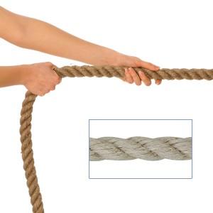 Tauziehseil für Kinder - 20mm Polyhanf - Seil