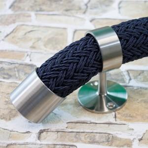 Handlaufseil aus Polyester-Tauwerk, Marine - für 40mm Seilträger