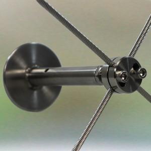 Wandhalterung mit Kreuzlemme 5mm, 130mm Wandabstand