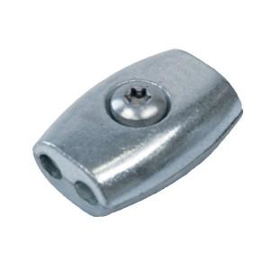 Eiform - Seilklemme für 5,0mm Drahtseil