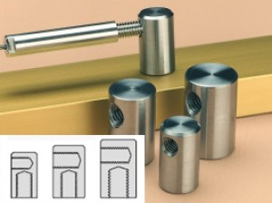 SBD Wandhalterung kurz - mit M8x45mm Verbindungsschraube für 3 u. 4mm Terminal-Spanner