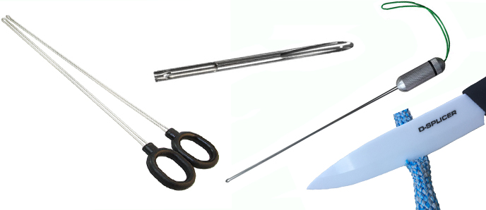 D-Splicer / Spleißnadeln für geflochtene Seile