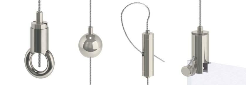 Drahtseilhalter Typ15 - Drahtseil: 1,0mm - 1,5mm
