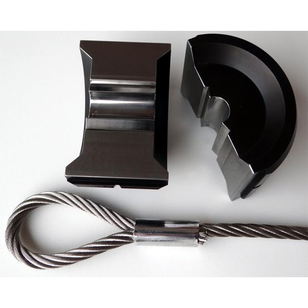 pressbacken f r din en13411 3 ovalklemmen ng2 5 ng12 p58e. Black Bedroom Furniture Sets. Home Design Ideas