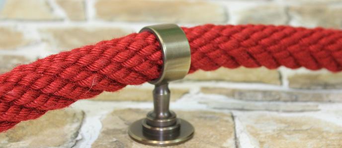 Seilträger und Beschläge - bronziert