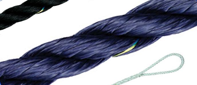 Polyester-Tauwerk - farbig / 3-30mm ø