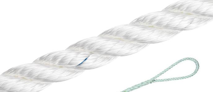 Polyester-Tauwerk - weiß / 3-30mm ø