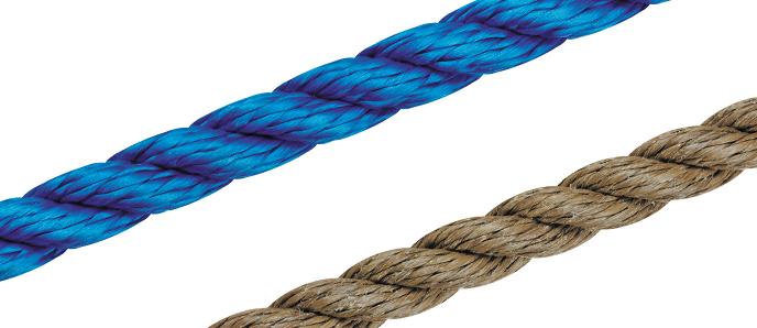 Multifil-Tauwerk 4-24mm ø - farbig