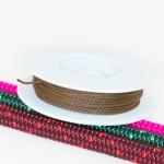 Braun / Takelgarn 1,0mm ø - farbig - 20mtr. Rolle - Art.Nr. 499101
