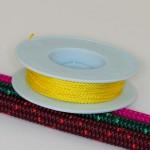 Gelb / Takelgarn 1,0mm ø - farbig - 20mtr. Rolle - Art.Nr. 499101
