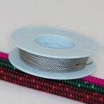 Grau / Takelgarn 1,0mm ø - farbig - 20mtr. Rolle - Art.Nr. 499101