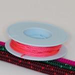 Lachs / Takelgarn 1,0mm ø - farbig - 20mtr. Rolle - Art.Nr. 499101
