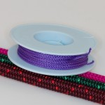 Lila / Takelgarn 1,0mm ø - farbig - 20mtr. Rolle - Art.Nr. 499101