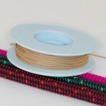 Naturfarben / Takelgarn 1,0mm ø - farbig - 20mtr. Rolle - Art.Nr. 499101