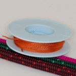 Orange / Takelgarn 1,0mm ø - farbig - 20mtr. Rolle - Art.Nr. 499101