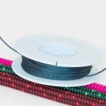Stahlblau / Takelgarn 1,0mm ø - farbig - 20mtr. Rolle - Art.Nr. 499101
