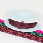 Weinrot / Takelgarn 1,0mm ø - farbig - 20mtr. Rolle - Art.Nr. 499101